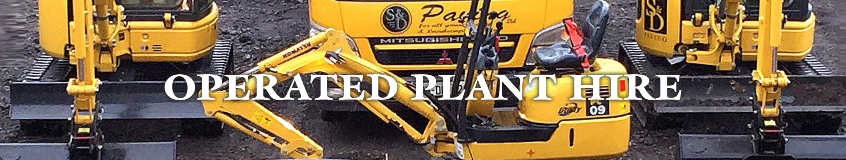 Operated Plant Hire Dublin